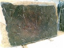 Brown Fossil Marble Tiles & Slabs Morocco