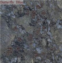 Butterfly Blue Granite Slabs & Tiles