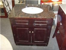 Brown Granite Vanitytop