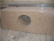 Yellow Granite Vanity Top