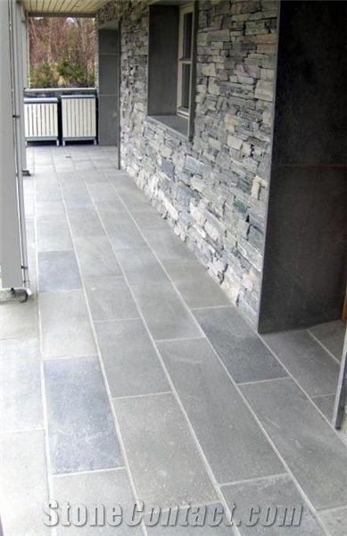 Grey Slate Floor Tiles From Norway Stonecontact Com
