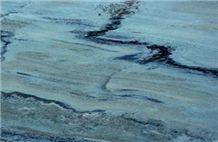Caribbean Blue Quartzite Slabs & Tiles, Sweden Blue Quartzite