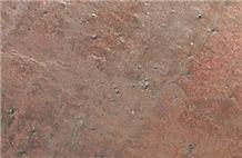 Molten Copper Quartzite Slabs & Tiles, India Brown Quartzite