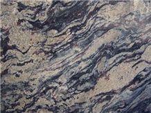 Barracuda Blue Granite Slabs & Tiles, Brazil Blue Granite