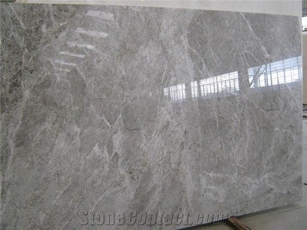 Tundra Grey Marble Slab Turkey Grey Marble From China