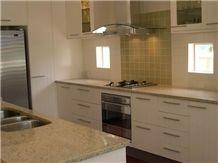 Opalescent Grain Beige Granite Countertop