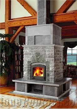 Standard Tulikivi Soapstone Fireplace Surround From United States