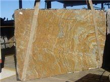 Casablanca Granite Slabs, Brazil Yellow Granite