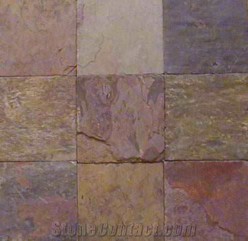 Indian Multicolor Slate Tile
