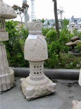 Rust Stone / Granite Lamp