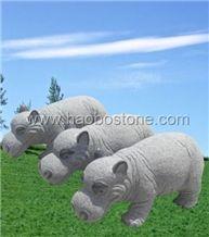 Granite Animal Sculpture