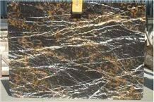 Nero Port Laurent Marble Tiles & Slabs, Black Marble Tiles & Slabs Morocco