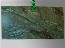 Green Iron Satin Soapstone Slab
