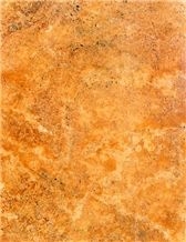 Lemon Travertine Slabs & Tiles, Iran Yellow Travertine