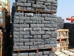 Vietnam Black Basalt Cobble Stone Slabs & Tiles, Viet Nam Black Basalt