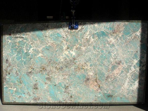 Amazonite Granite Slabs Labdar Amazonite Granite From