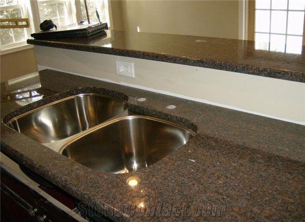 Brown Granite Countertop