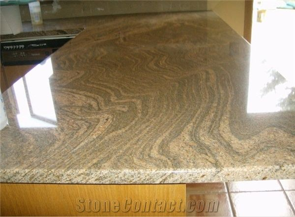 Juperana Gold Granite Countertop Juparana Gold Yellow
