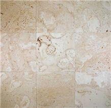 Coralina Shellstone Limestone Slabs & Tiles, Mexico Beige Limestone