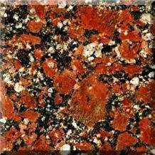 Rosso Santiago Granite Slabs & Tiles, Ukraine Red Granite