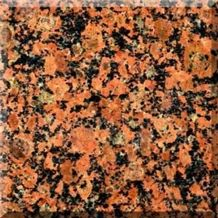 Rosso Toledo Granite Slabs & Tiles, Ukraine Red Granite