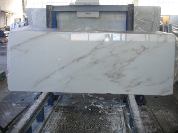 Colorado Gold Marble Slab Italy White Marble