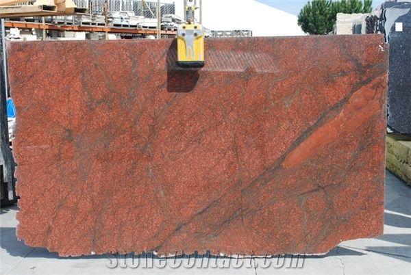 Red Dragon Granite Slabs Brazil Red Granite From United