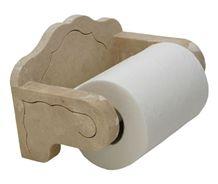 Paper Holder with Travertine