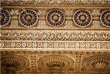 Dholpur White Sandstone Jharokhas Handcraft