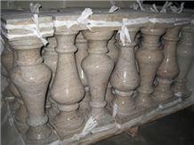 Baluster in Gold Granite