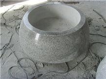 G603 Granite Flower Pot