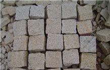 G682 Granite Cobble Stone