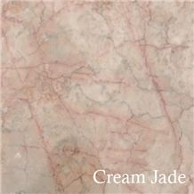 Red Cream Marble