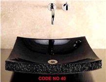 Black Granite Sinks,Wash Basins