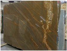 Sucupira Brown Granite Slab