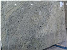 Verde Aquario Granite Slab, Brazil Green Granite