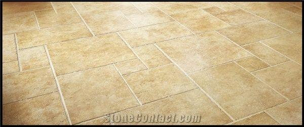 Jerusalem Cream Limestone Floor Tile From United States