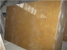 Golden Emperador Marble Slab, Iran Yellow Marble