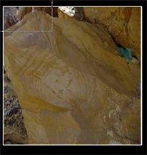 Teak Wood Marble Blocks