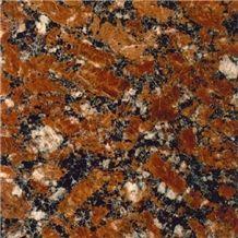 Rosso Santiago Granite Slabs & Tiles, Ukraine Red Granite