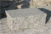 Chinese Granite Grey Cobble Stone Cube Stone