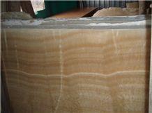 China Honey Onyx Slab
