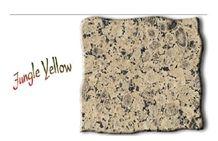 Jungle Yellow Granite Slabs & Tiles