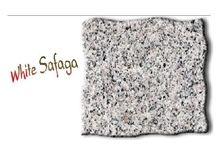White Safaga Granite Slabs & Tiles