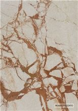 Rosso Pezzato Marble Slabs & Tiles, Italy Pink Marble