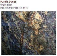 Purple Dunes Granite Slabs & Tiles