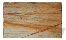 Calypso Gold Quartzite Slabs & Tiles, Brazil Yellow Quartzite