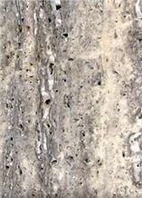 Smoked Yazd Travertine Slabs & Tiles, Iran Grey Travertine