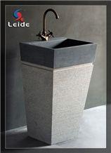 G654 Granite Pedestal Sink