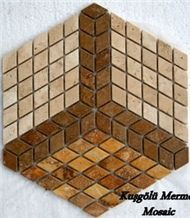 Mosaic K17, Travertine Mosaic